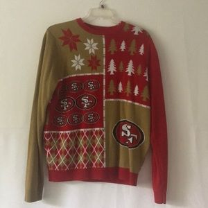 San Francisco 49ers NFL Ugly Holiday Sweater